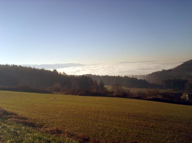 Nebelmeer Seeende